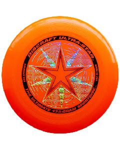 Disco o Frisbee Naranja Discraft Ultra-Star 175 g Profesional
