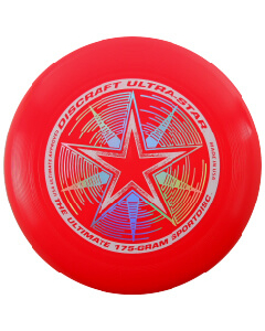 Disco o Frisbee Rojo Discraft Ultra-Star 175 g Profesional