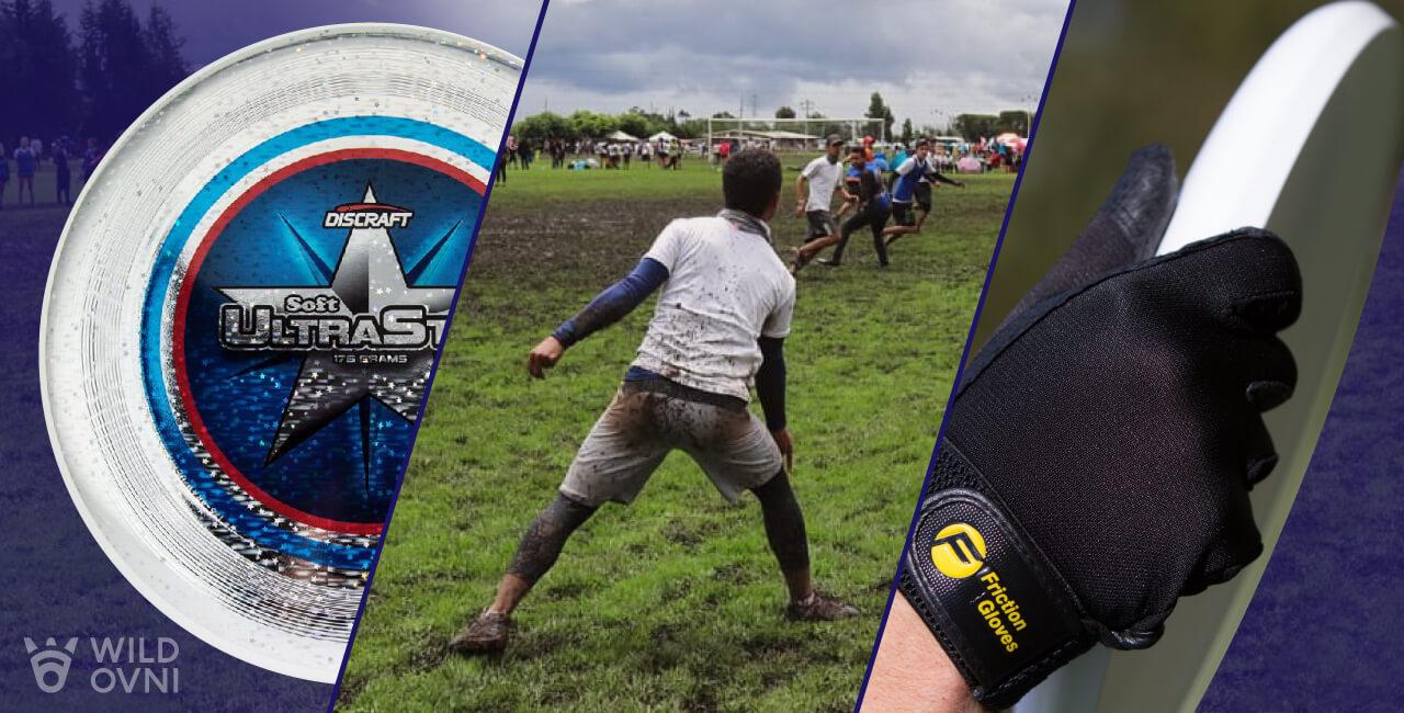 Wild Ovni, traemos para ti imprementos profesionales, como discos y guantes, para practica de Ultimate Frisbee